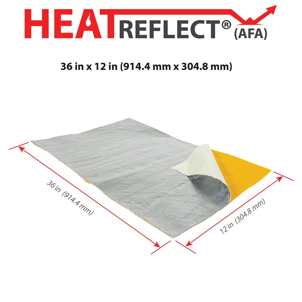 HeatReflect® (AFA) - Product Dimensions