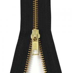Toothed Zipper (Hi Temp Brass) with Part Number: